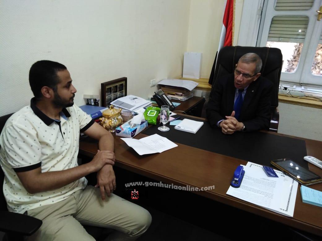الدكتور محمد مجاهد نائب وزيرالتربية والتعليم والتعليم الفني