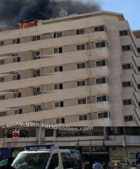 حريق بفندق الدلتا بالازاريطه