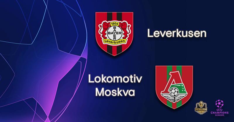 مباراة باير ليفركوزن ولوكوموتيف موسكو