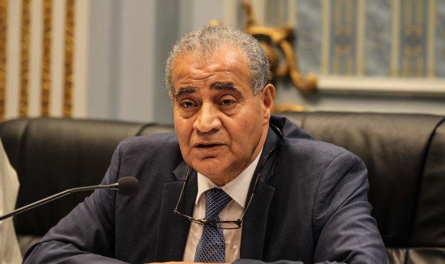 د. علي مصيلحي وزير التموين