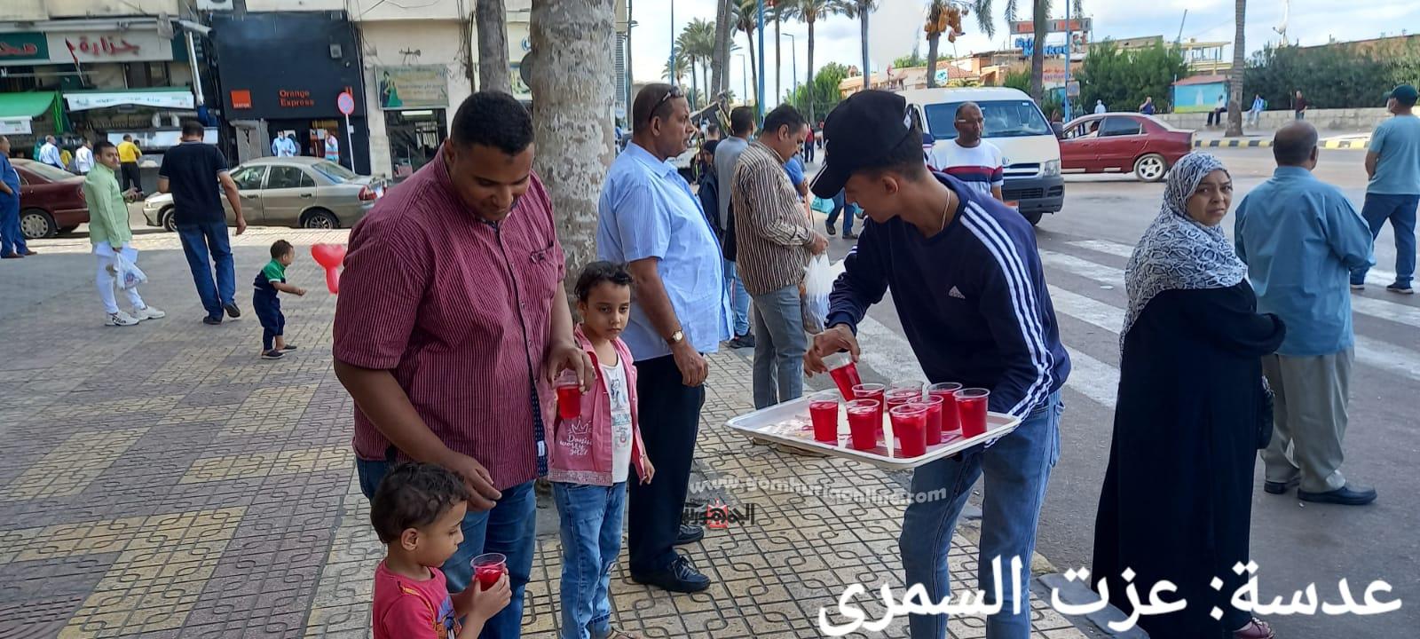 شربات ولاد بحرى إحتفالات بالمولد النبوي بشوارع الإسكندرية