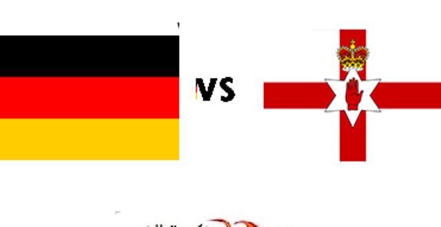 مباراة ألمانيا وأيرلندا الشمالية