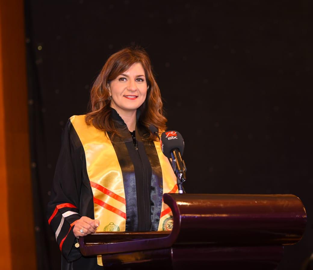 السفيرة نبيلة مكرم عبد الشهيد- وزيرة الدولة للهجرة وشئون المصريين بالخارج