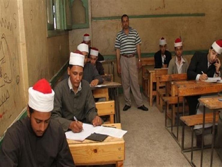 631 طالبا وطالبة يؤدون امتحانات الفقه بالثانوية الازهرية بالمنيا