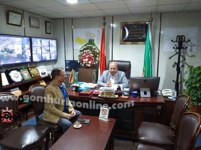 اللواء علاء رشاد فى حديثة للجمهورية أون لاين