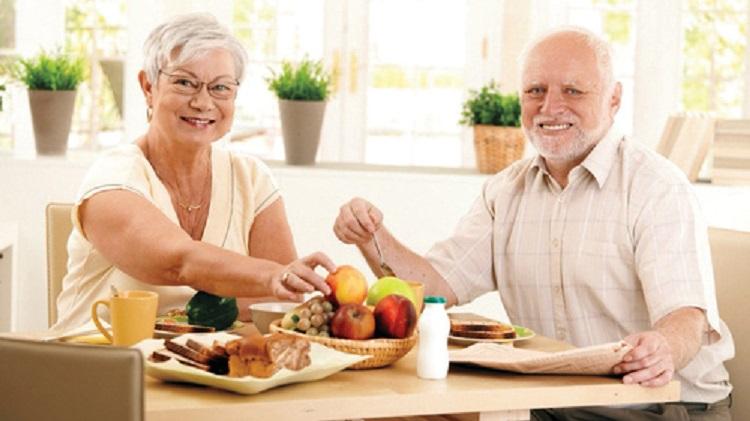 التغذية الصحية  للمسنين