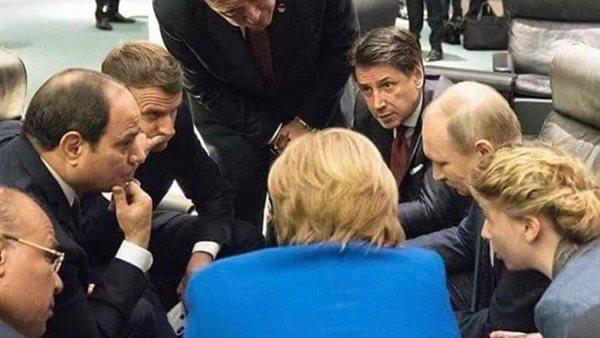 جانب من لقاءات الرئيس