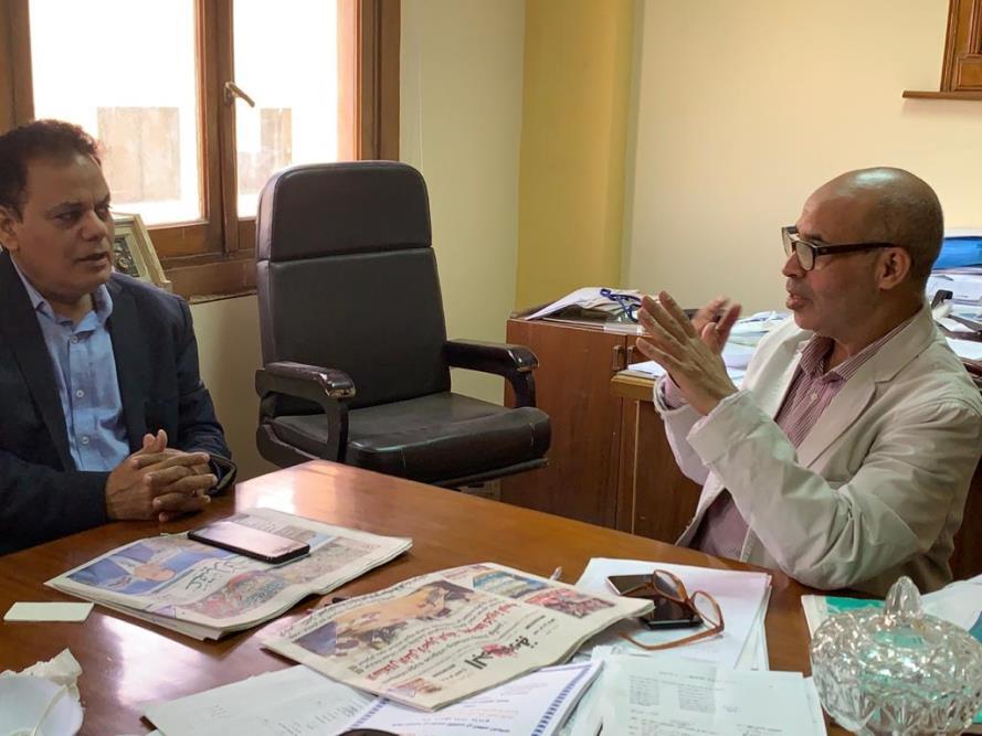 الدكتور أحمد عبد الدايم في حاره مع عقيدتي