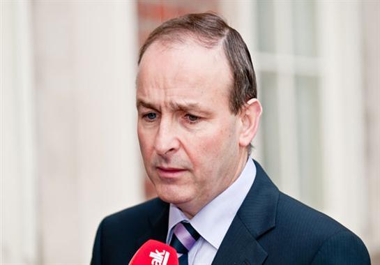 رئيس الوزراء الإيرلندي مايكل مارتن