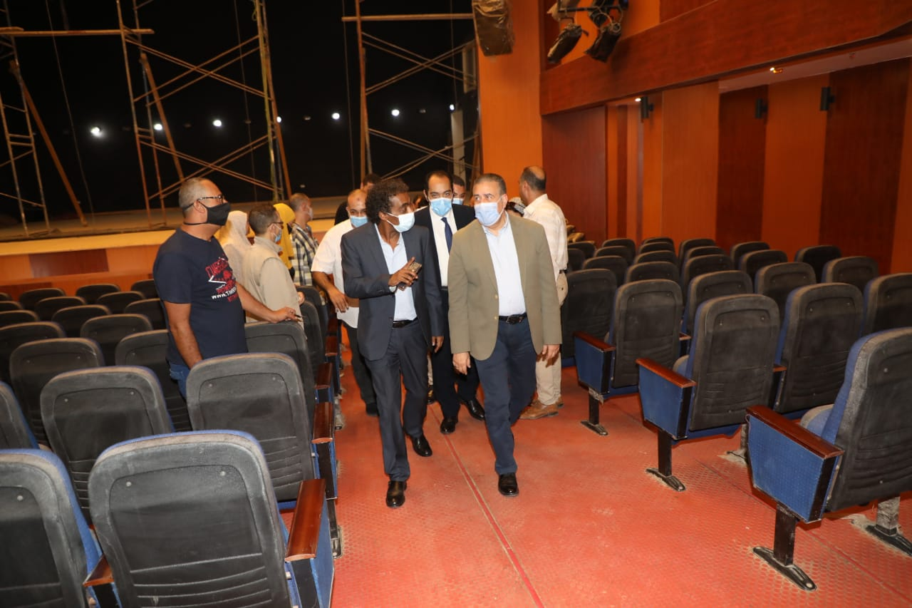 مسرح وسينما قصر ثقافة شبين الكوم