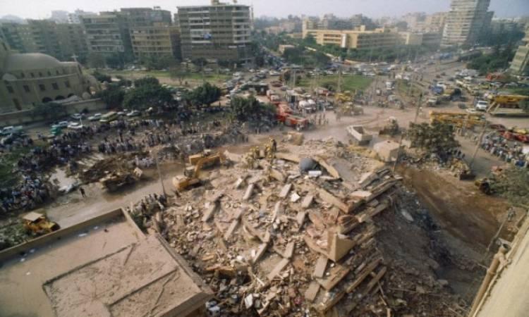 صورة ارشيفية لـ زلزال 92 الحاضر الغائب