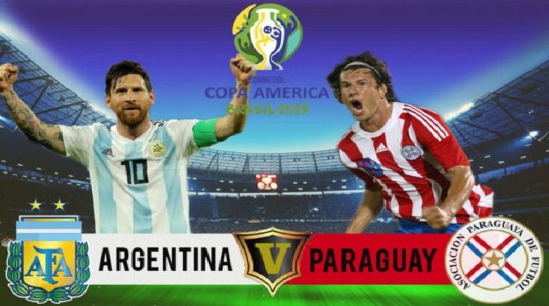مشاهدة مباراة الارجنتين وباراجواي