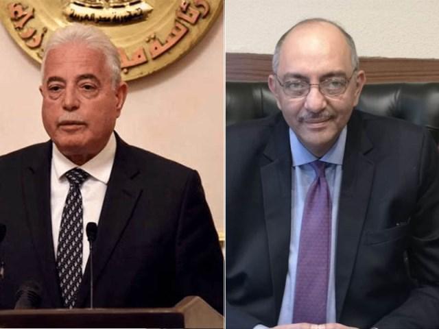 السفير المصري باسبانيا عمر سليم واللواء خالد فودة محافظ جنوب سيناء