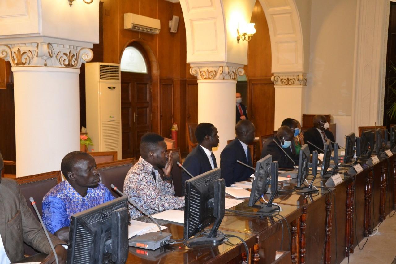 وزير التعليم العالى بجنوب السودان ورئيس مجلس جامعة الاسكندرية