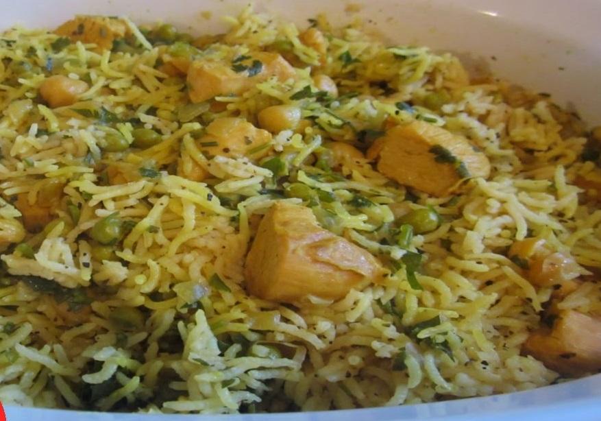 ارز بالخلطة والدجاج