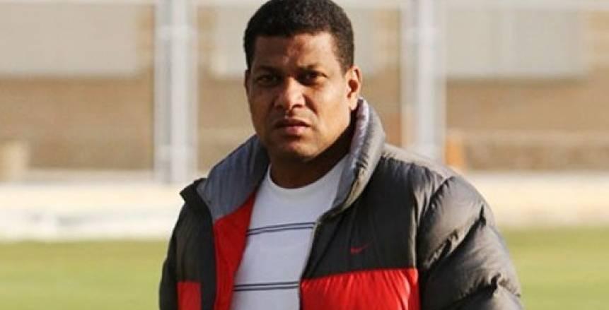 علاء عبد العال المدير الفني للفريق الأول لكرة القدم بنادي الداخلية