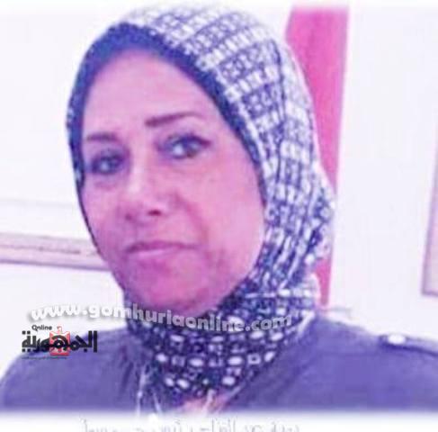 المهندسة بهية عبد الفتاح رئيس حى وسط