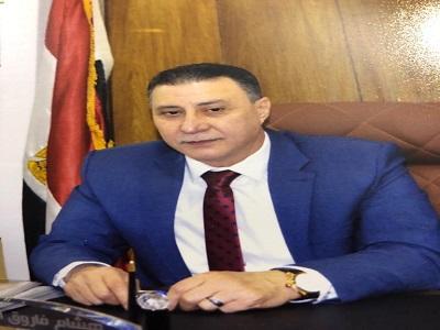 هشام فاروق المهيرى نائب رئيس الاتحاد العام لنقابات عمال مصر