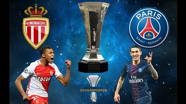شاهد لايف مباراة باريس سان جيرمان وموناكو  الدوري الفرنسي .. بدون تقطيع
