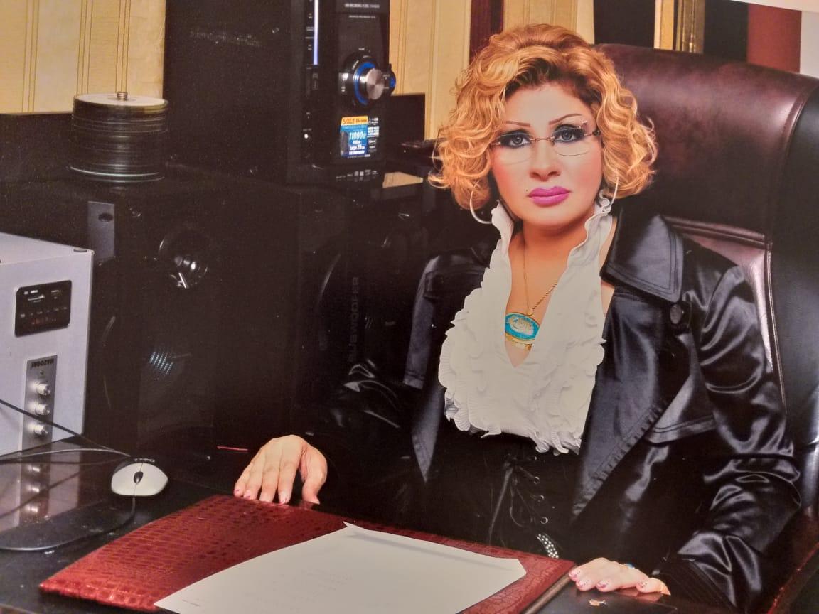 الفنانة منال البربرى