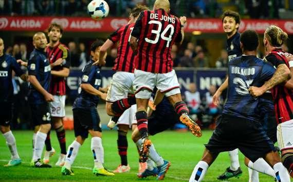 مشاهدة مباراة ميلان وإنتر ميلان في الدوري الايطالي
