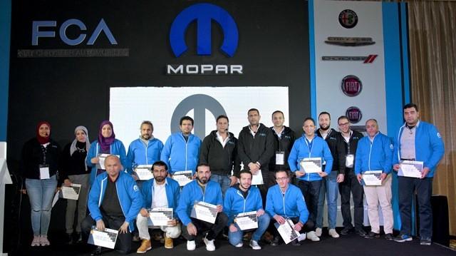 صورة جماعية للفائزين بأحسن اداء عن 2018