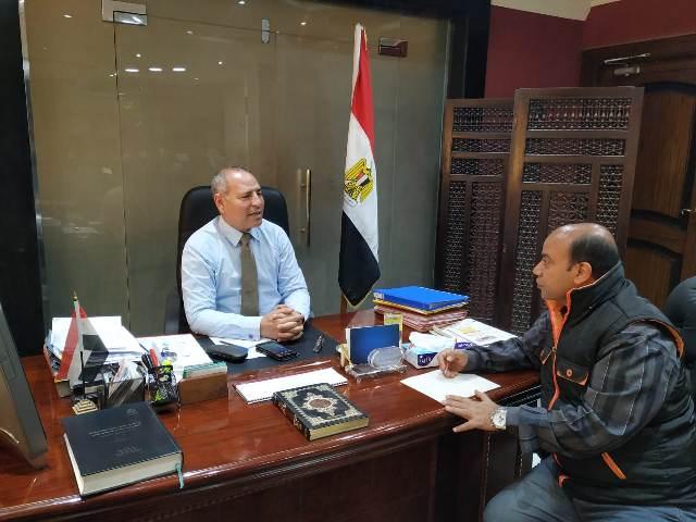 الدكتور إبراهيم صابر نائب محافظ القاهرة
