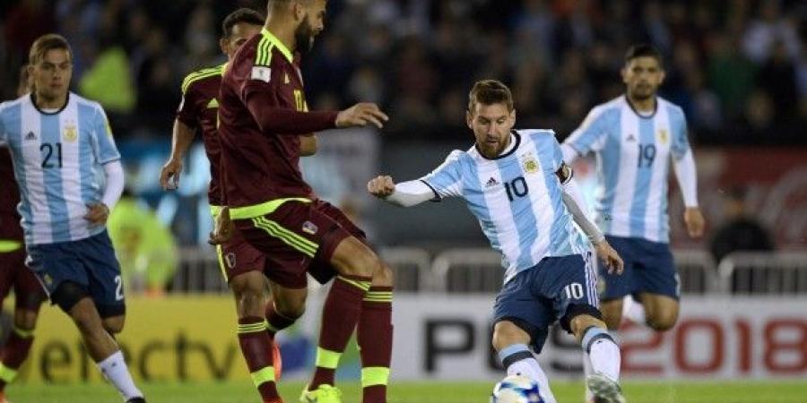 مشاهدة مباراة الأرجنتين وفنزويلا