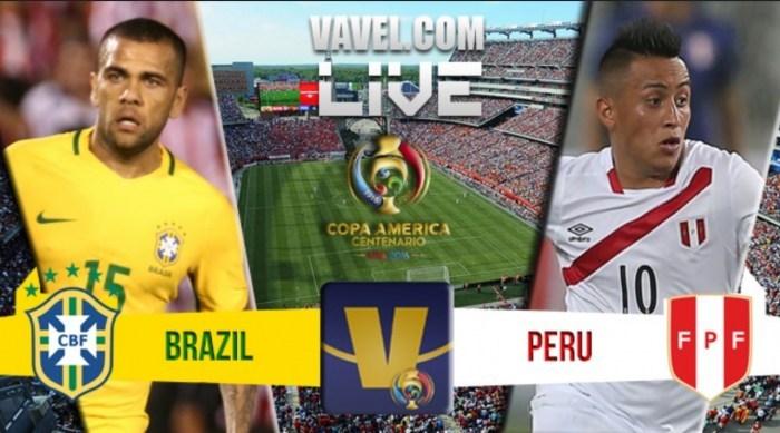 مشاهدة مباراة البرازيل والبيرو