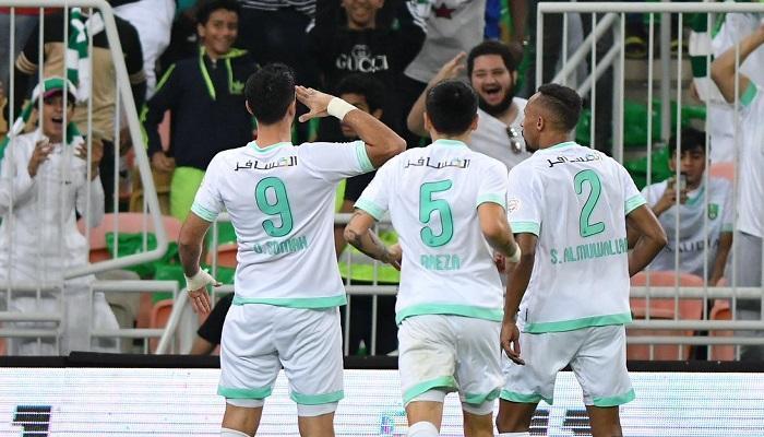 أهلي جدة نظيره العدالة مسابقة الدوري السعودي