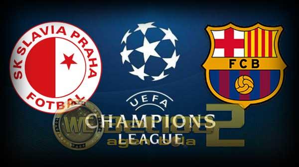 مشاهدة حصرية لمباراة برشلونة وسلافيا براغ