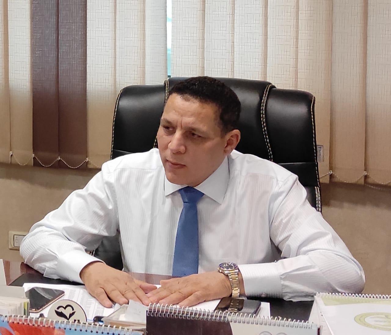 النائب، احمد محسن عضو مجلس الشيوخ