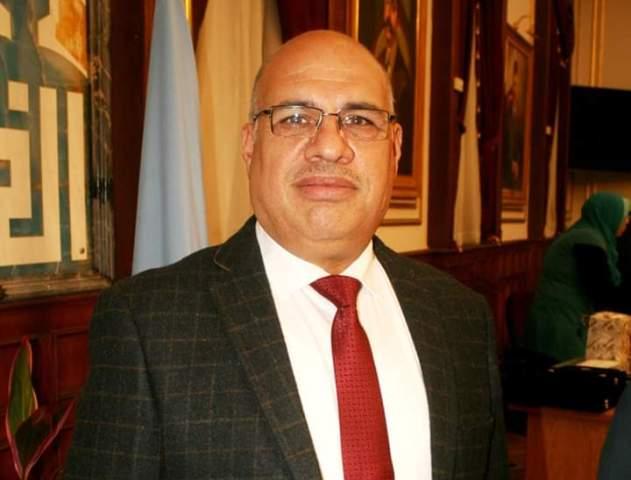اللواء ابراهيم عبد الهادى نائب محافظ القاهرة للمنطقة الغربية
