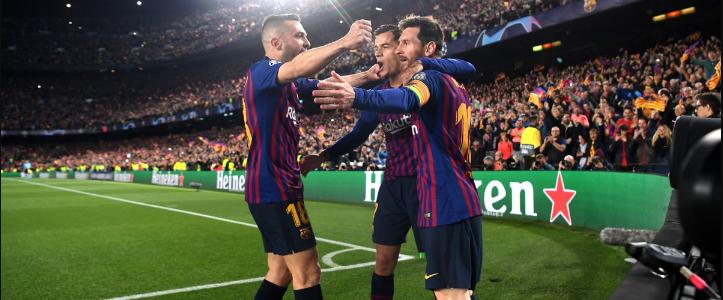 مباراة برشلونة وألافيس