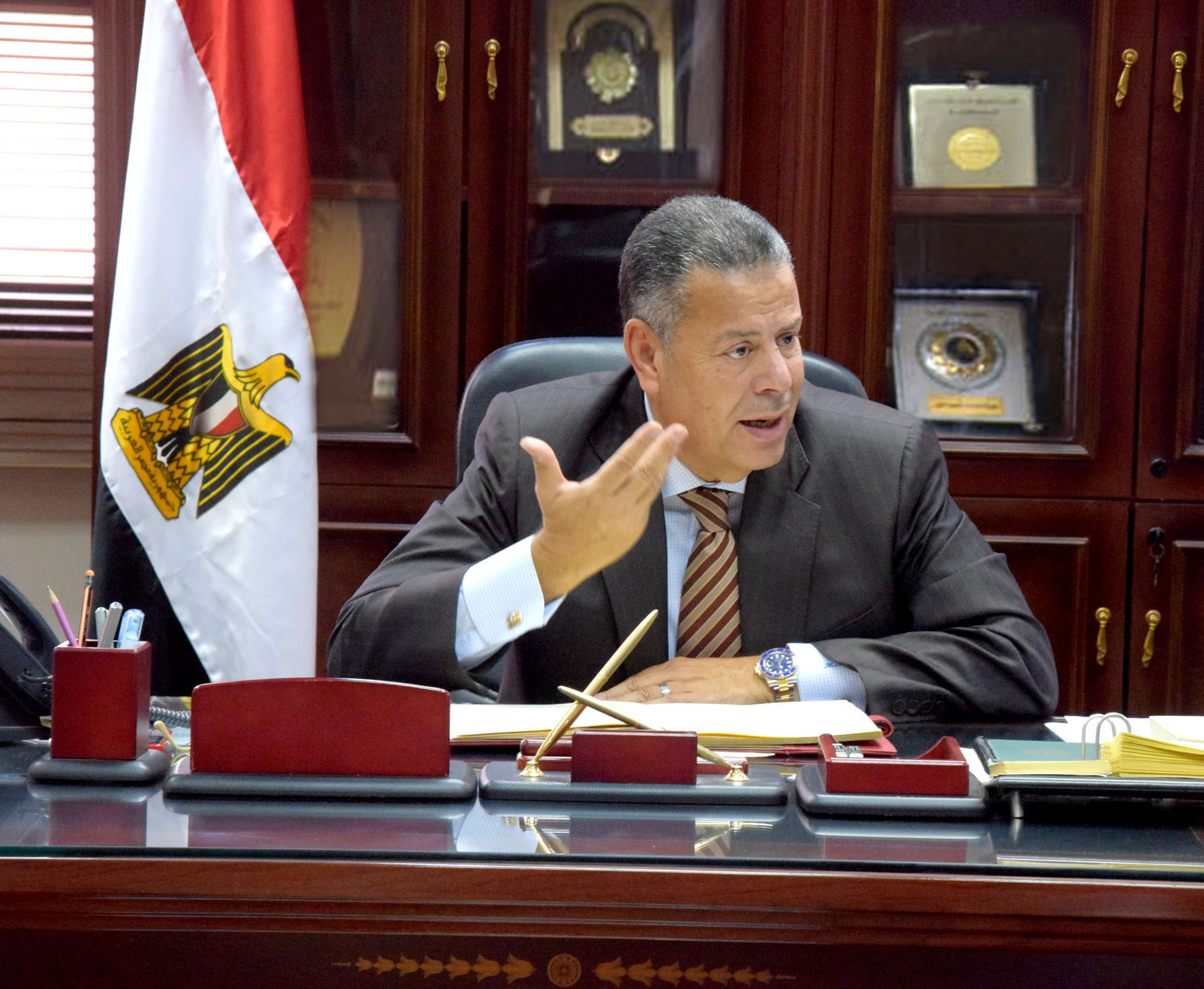 هاني عبد الجابر محافظ بني سويف