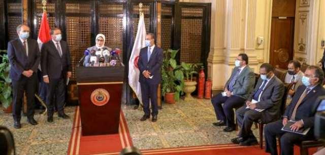 وزيرة الصحة تستقبل مفوض الاتحاد الأوروبي وتقدم الشكر لدعم مصر بـ6 ملايين جرعة من لقاح استرازينيكا