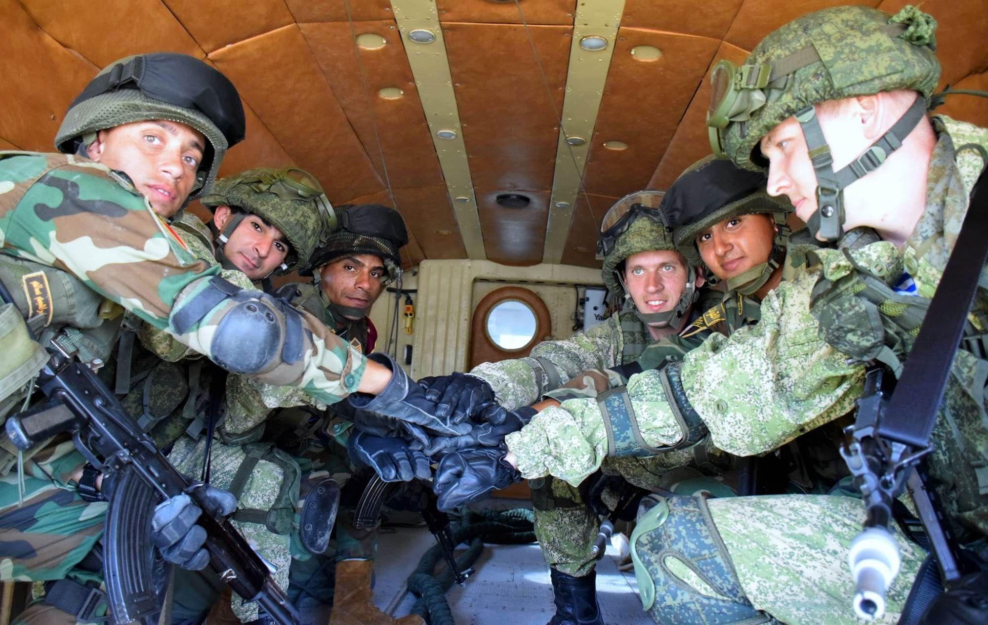 بالصور والفيديو... إستمرار فعاليات التدريب المصرى الروسى المشترك