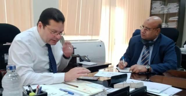 د.  إيهاب أبوعيش،في حوار للجمهورية أون لاين