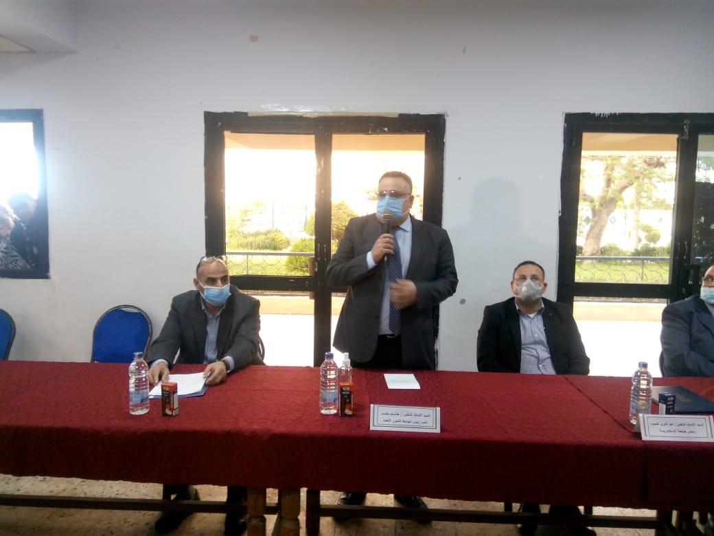 رئيس جامعة الاسكندرية يعلن اسماء الفائز بمنصب رئيس الاتحاد  الاهتمام يربط جميع الطلاب بكل ما يتم من انشطة