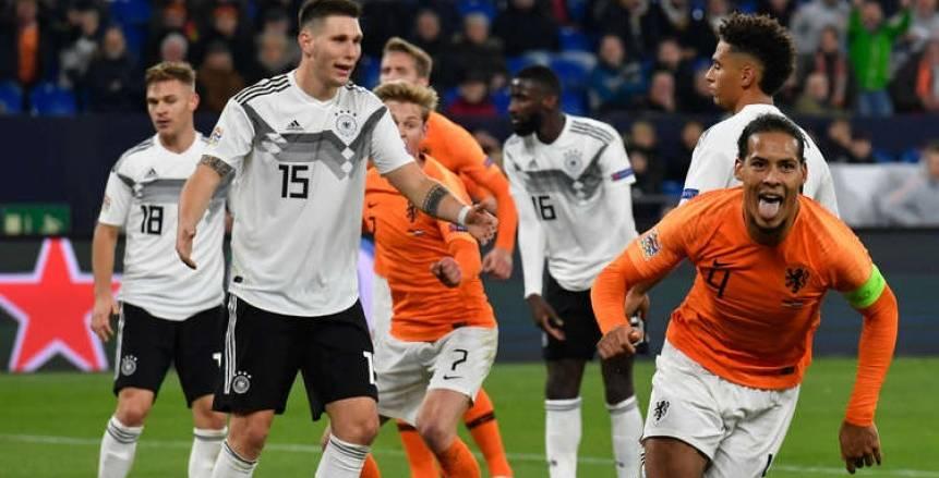 مباراة المانيا وهولندا