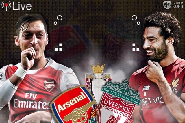 بث مباشر مباراة ليفربول وأرسنال