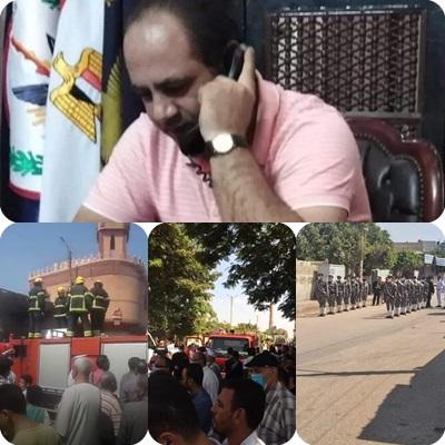 الشهيد المقدم محمد عفت القاضى.. #حادث سجن طرة