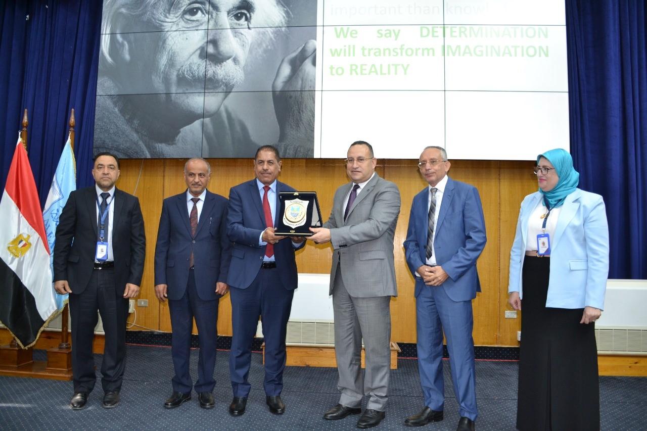 رئيس جامعة الاسكندرية يفتتح المؤتمر الدولى للمستجدات والابتكارات الطبية والتمريضية فى الرعاية الصحية
