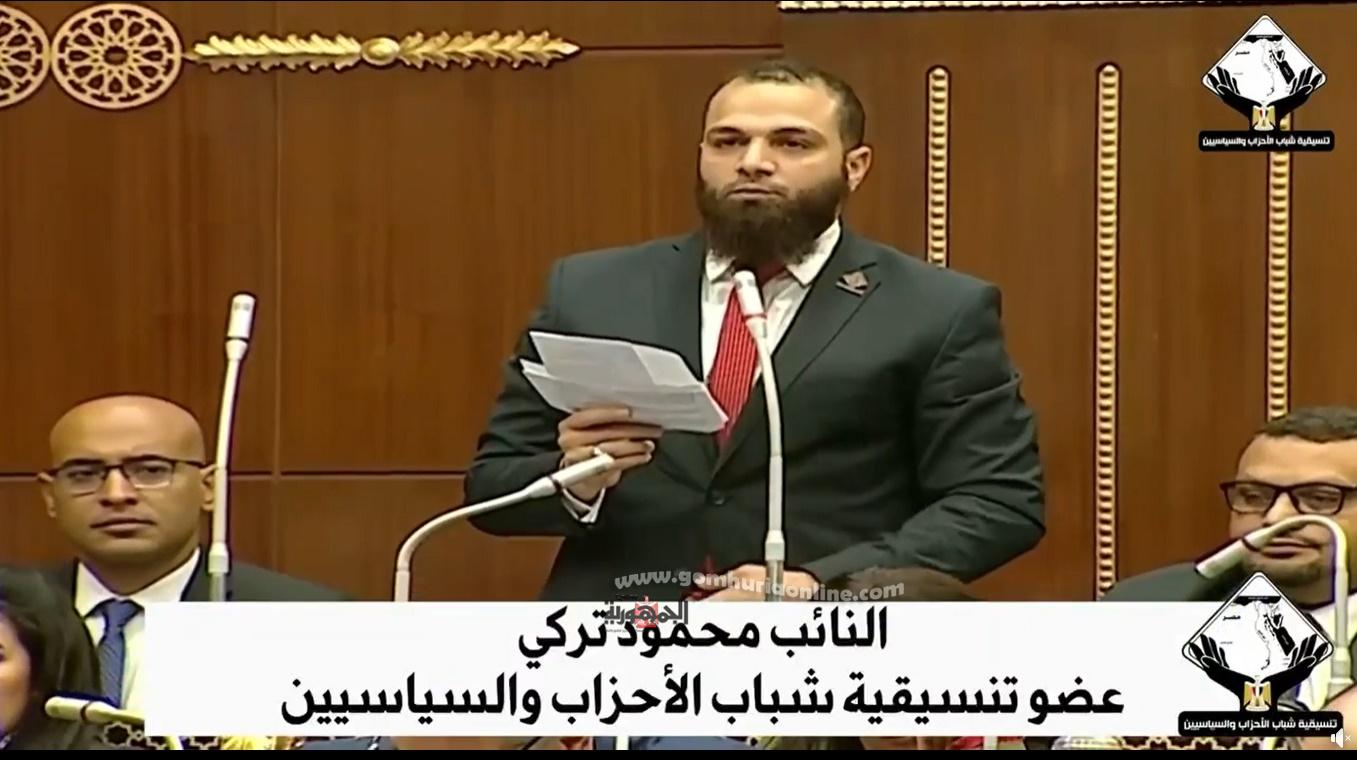 النائب محمود تركى