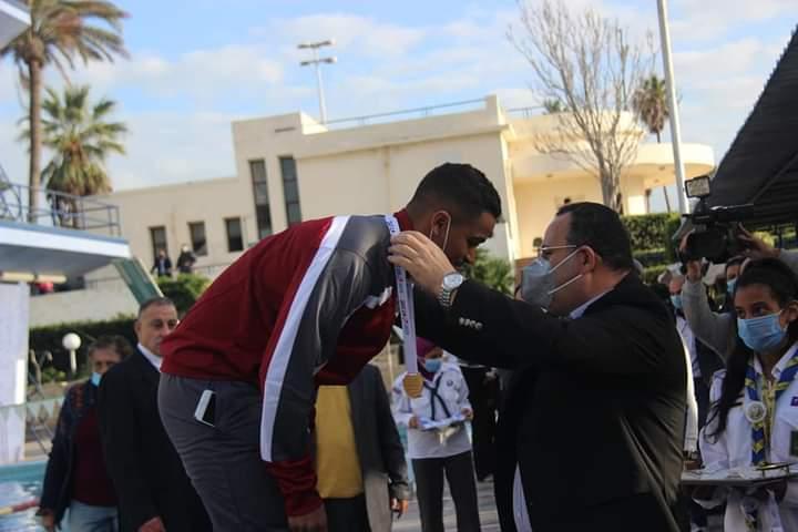 جامعة الاسكندرية تحصد المركز الاول والثانى والثالث فى مسابقة بطولة الجامعات للسباحة