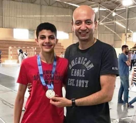 محمد ياسين ذهبية سيف المبارزه