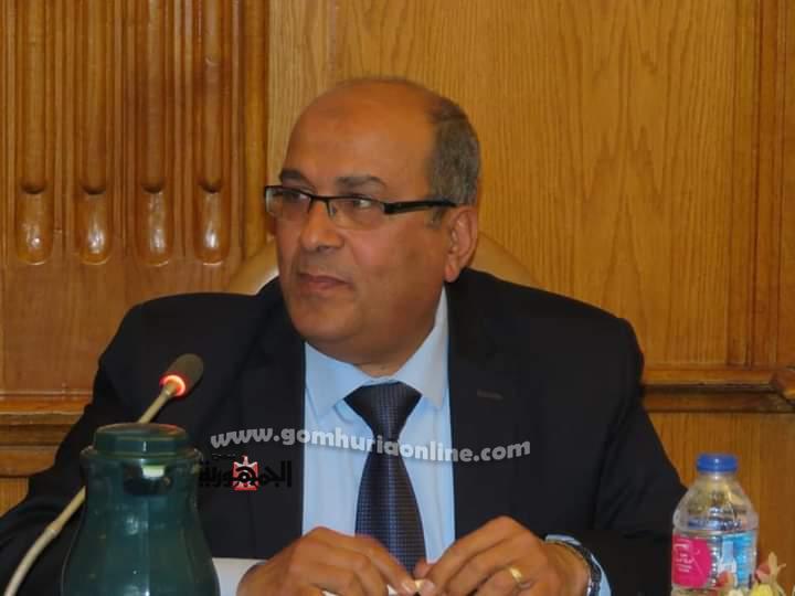 المهندس احمد جابر رئيس مجلس ادارة شركة مياه الشرب بالاسكندرية