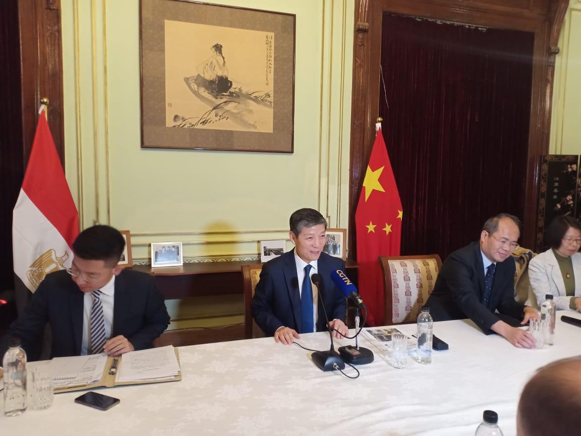 سفير الصين بالقاهرة، لياو لي تشيانج