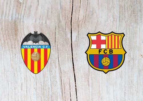 بث مباشر مباراة برشلونة ضد فالنسيا