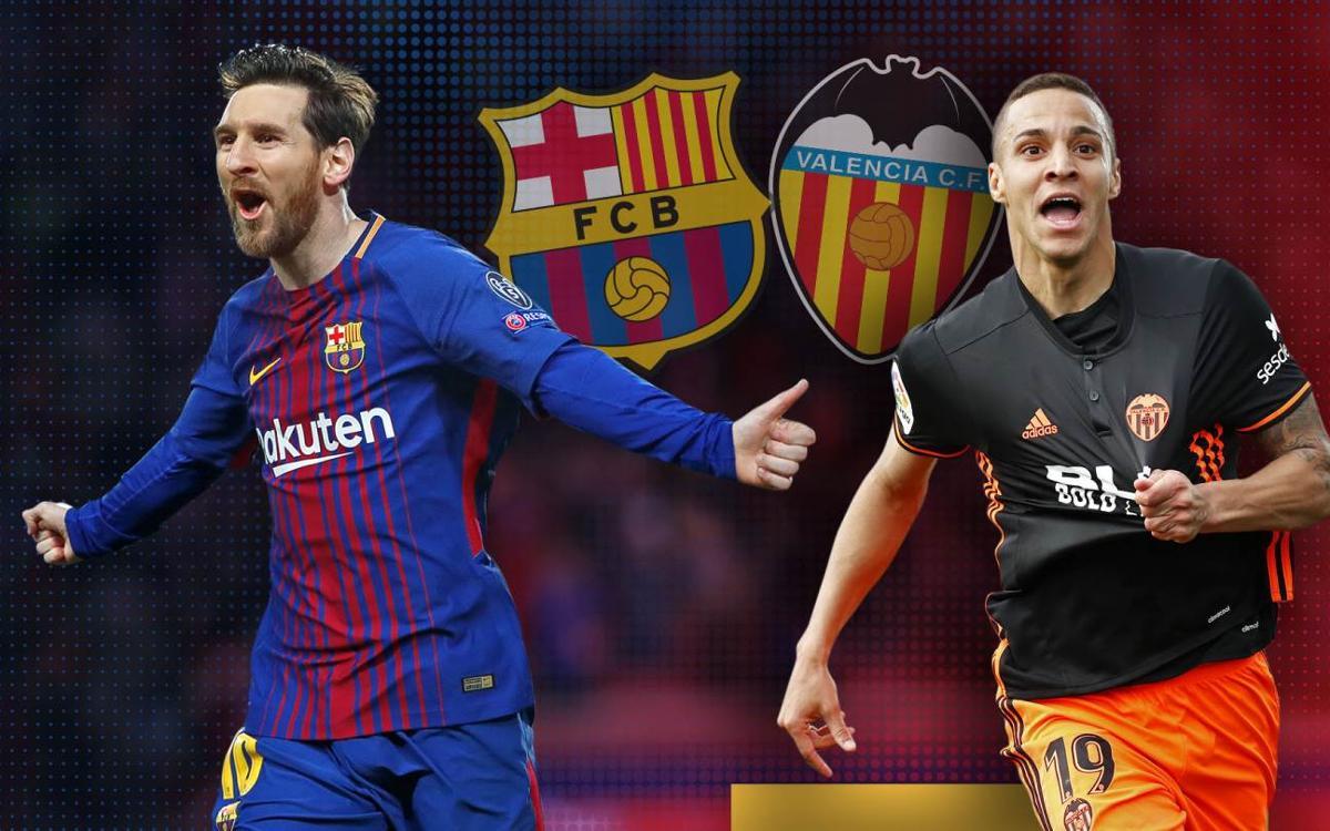 مشاهدة حصرية لمباراة برشلونة وفالنسيا